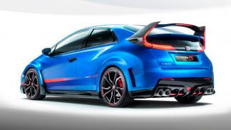 Honda Civic Type R Concept II - trasera
