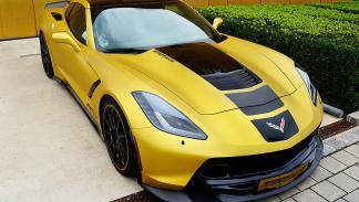Chevrolet Corvette C7 Stingray de Geiger Cars tres cuartos