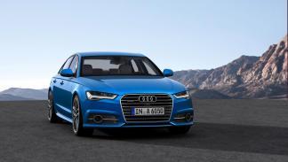 Frontal del Audi A6 2015