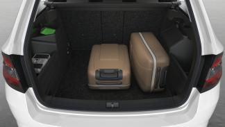 El maletero del nuevo nuevo Skoda Fabia Combi