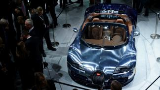 Bugatti Veyron Grand Sport Vitesse Ettore Bugatti aérea