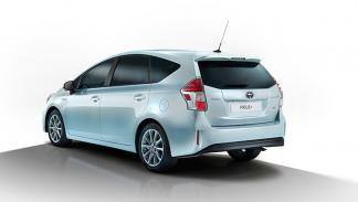 Toyota Prius+ 2015 trasera
