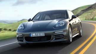 cinco coches sorprendentes Porsche Panamera frontal