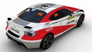 Toyota GT-86 CS-R3 coche cero