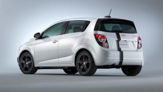 Chevrolet Sonic Accesories Concept- trasera