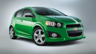 Chevrolet Sonic Performance Concept - frontal