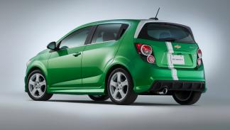 Chevrolet Sonic Performance Concept - trasera