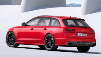 Cinco coches sorprenderan conduces Audi RS6 Avant trasera
