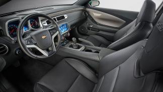 Camaro SS interior