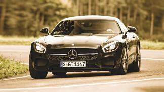 Delantera Mercedes AMG GT