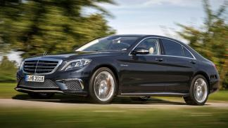 cinco berlinas produccion mas potentes Mercedes S65 AMG