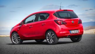 Opel Corsa 2014 cinco puertas trasera