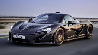 cinco hibridos mas rapidos McLaren P1