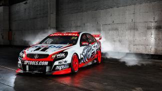 HSV Holden Commodore-Garth Tander-James Courtney