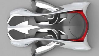 BMW 2025 concept car aérea