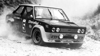 Fiat 131 Abarth Walter Röhrl