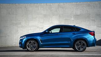 BMW X6 M perfil