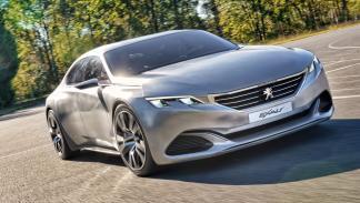 Delantera del Peugeot Exalt