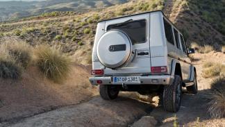 cinco coches alemanes no fabrican Alemania  Mercedes Clase G trasera