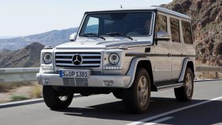 cinco coches alemanes no fabrican Alemania  Mercedes Clase G delantera