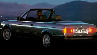 BMW Serie 3 E30 Cabriolet trasera