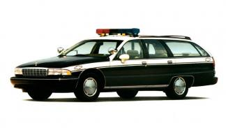 Chevrolet Caprice Classic Car Police familiar