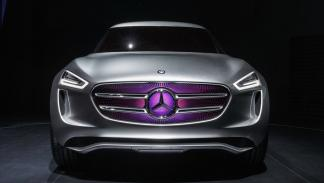 Mercedes-Benz G Code concept parrilla