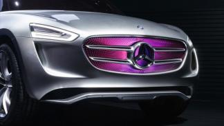 Mercedes-Benz G Code concept faros