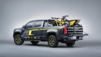 Chevrolet Colorado Performance Concept - trasera - foto de estudio
