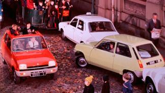 Renault 5 delantera trasera