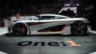 cinco mejores superdeportivos 2014 Koenigsegg One1 lateral