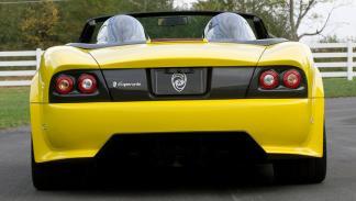 Panoz Esperante Spyder GT trasera