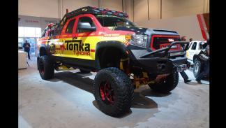 todoterrenos espectaculares SEMA 2014 Toyota Tonka Tundra