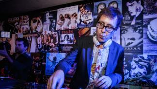 Joaquín reyes  Fiesta de celebración del aniversario del  Seat Ibiza