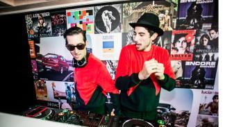 Pepino Marino y Crawford fiesta Ibiza