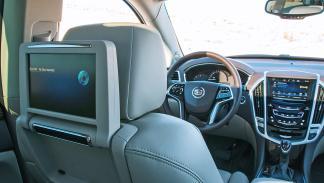 Prueba: Cadillac SRX, dvd