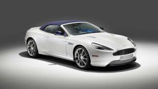 Aston Martin DB9 Volante Morning Frost - capotado