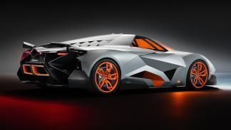 Cinco Lamborghini extremos Lamborghini Egoísta trasera