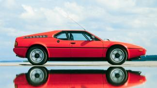 BMW M1 lateral
