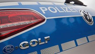 Golf-e Policía alemana Heligoland