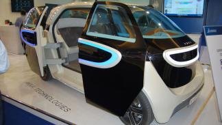 vehículo eléctrico akka michelin challenge bibendum
