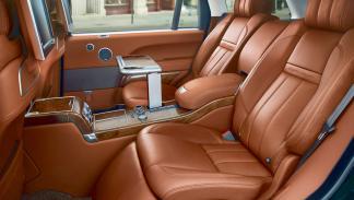 Suv más lujosos Range Rover interior