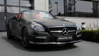 Mercedes SLK 55 AMG Performance Studio - detalle frontal