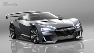 Subaru Viziv GT Vision Gran Turismo delantera
