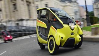 Toyota i-Road: apuesta diferente