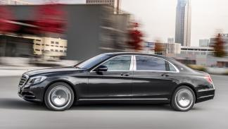 mercedes-maybach clase s lateral