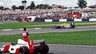 Senna con Honda