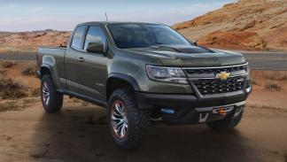 Chevrolet Colorado ZR2 Concept morro