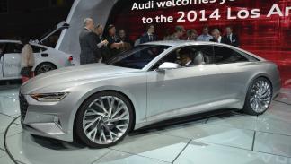 prototipos espectaculares Salón Los Ángeles 2014 Audi Prologue lateral