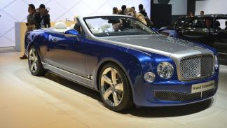 prototipos espectaculares Salón Los Ángeles 2014 Bentley Grand Convertible